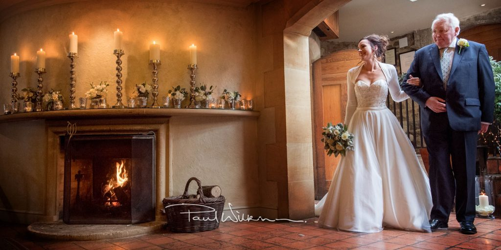 James and Rebecca's wedding, Le Manoir aux Quat'Saisons