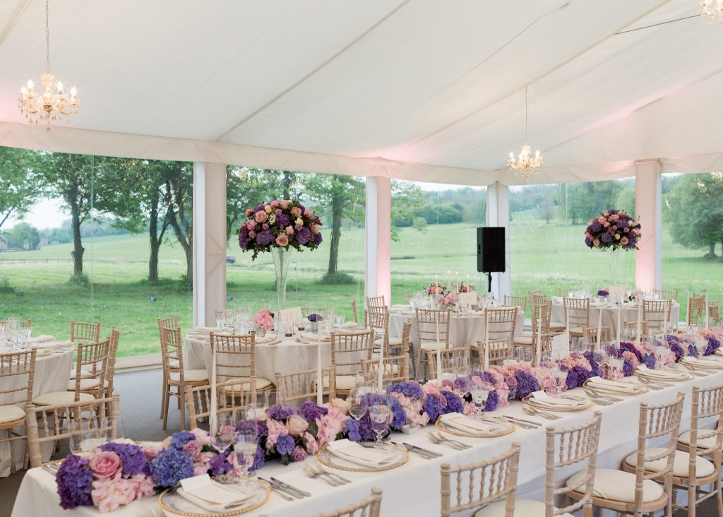 West Wycombe Park Marquee Wedding
