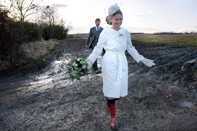 Fabulous country wedding in a marquee