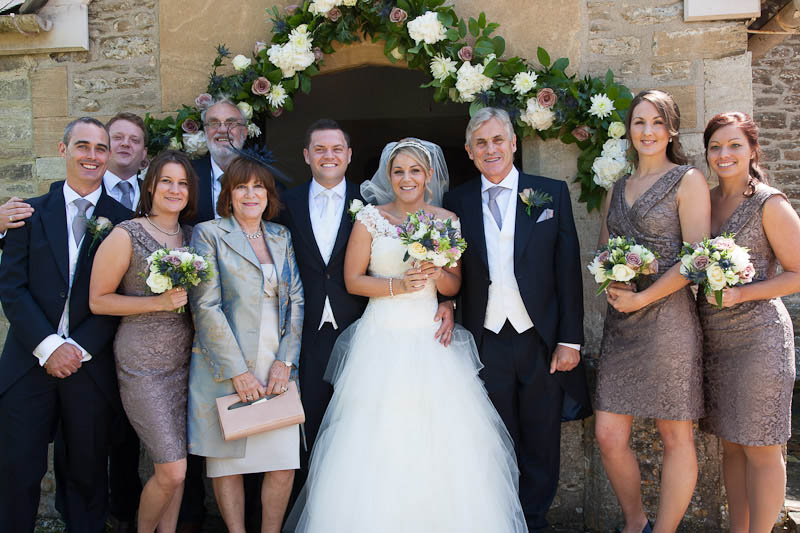 Francesca and Tom's Wedding, Ardington House