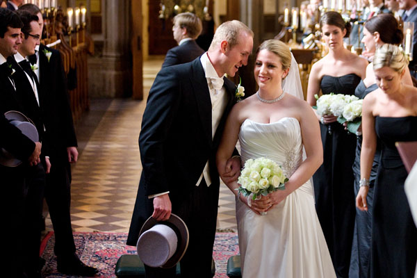 Jayme and Peter's Wedding, Magdalen College Chapel