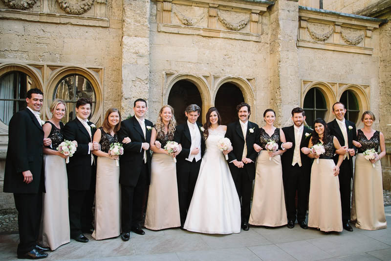 Brian and Kelly were married in the lovely Chapel of Brasenose College followed by an elegant reception at the Oxford Union.