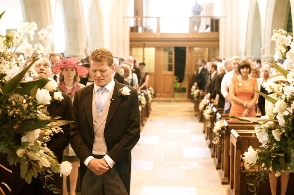 Lucy and Guy were married at St Augustines Church