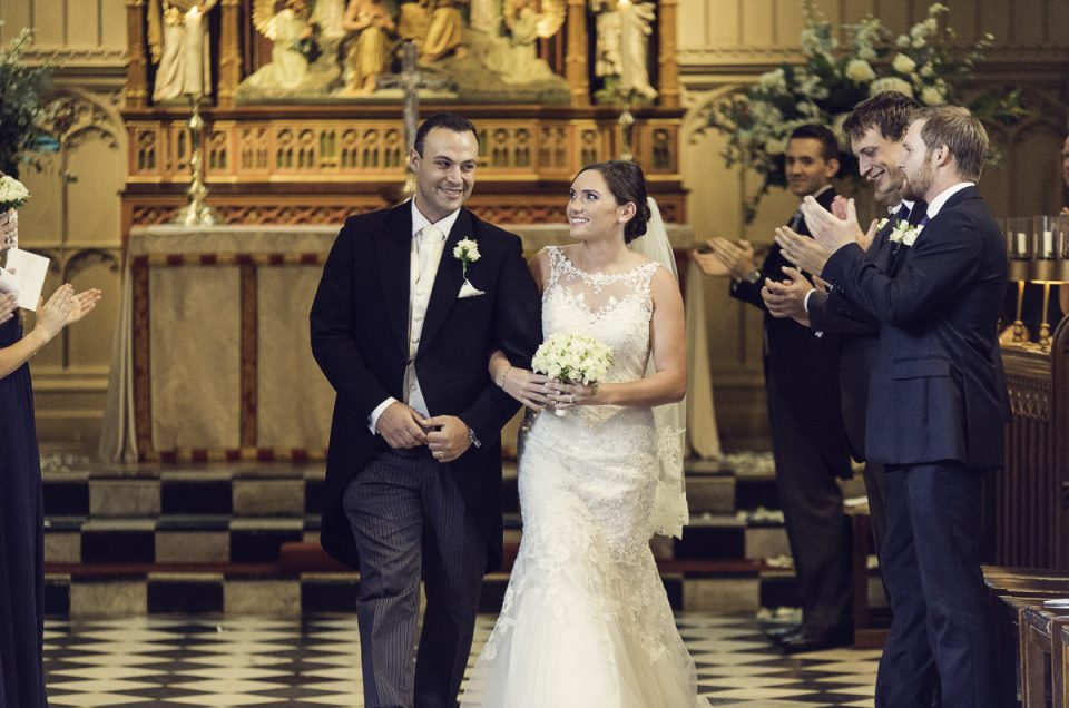 Brandea and Carmine's wedding, St John's College