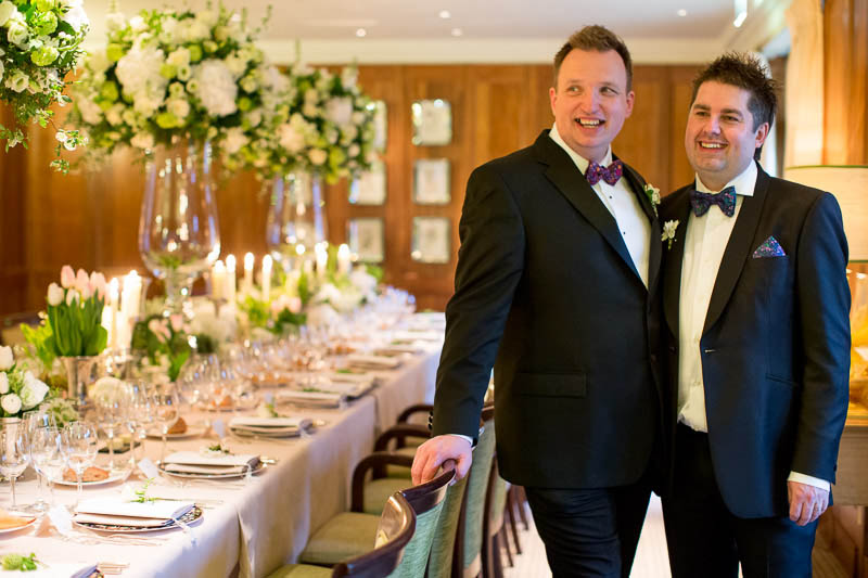 Matthew and Gary's wedding at Le Manoir aux Quat'Saisons