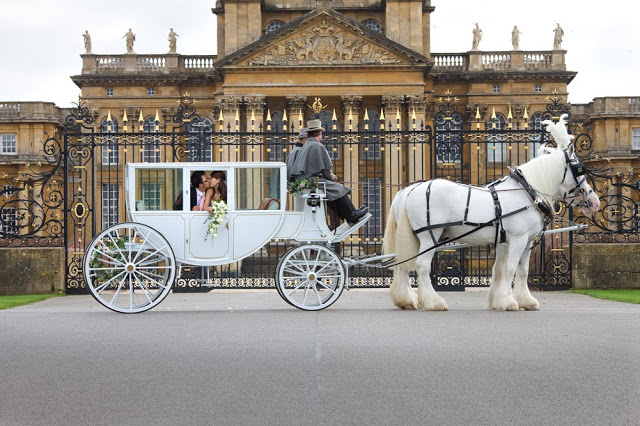 Bo and Quinnie's wedding at Blenheim Palace