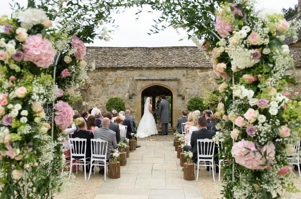Emily and Greg's wedding, Caswell House