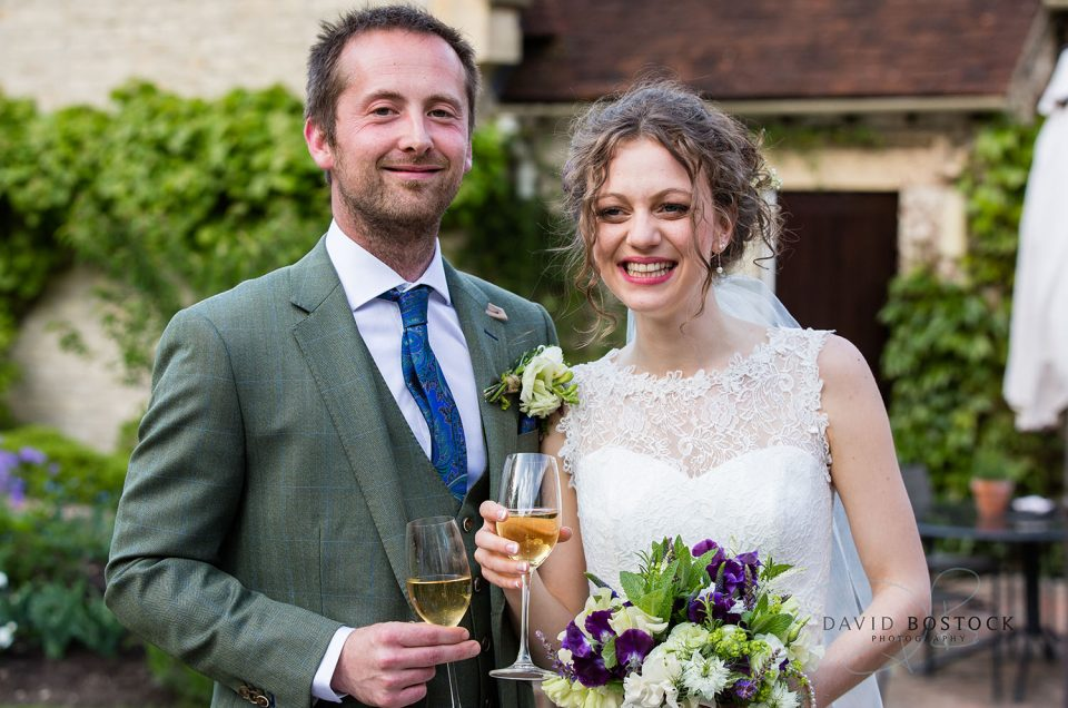 Iona and Dan's Garden Wedding, Le Manoir aux Quat'saisons