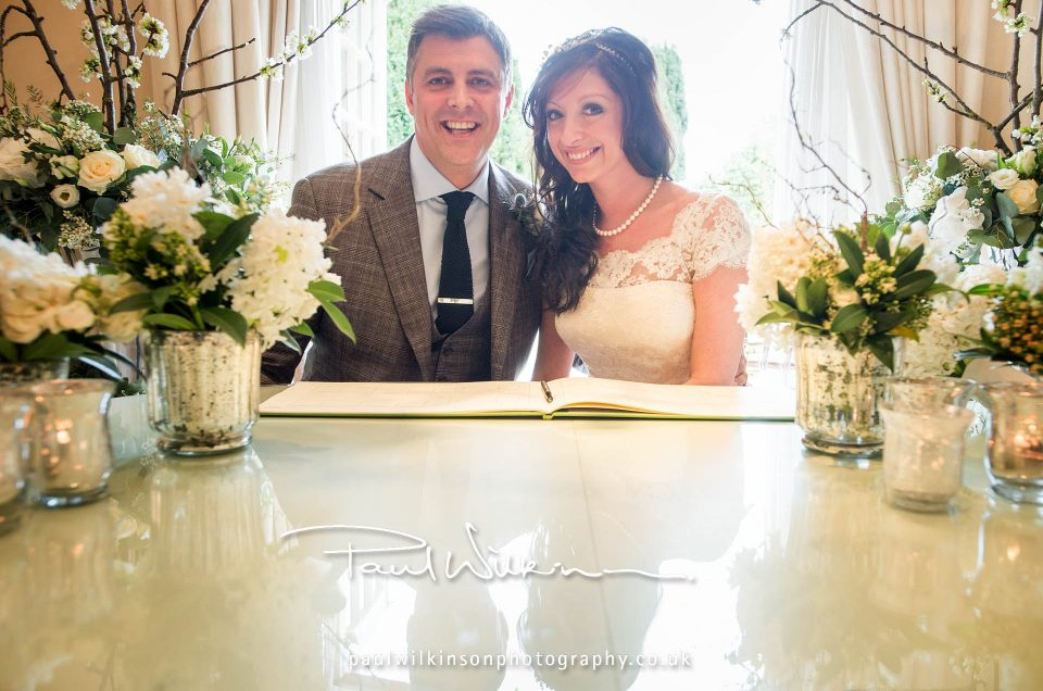 Claire and Eddie's wedding, Le Manoir aux Quat'saisons