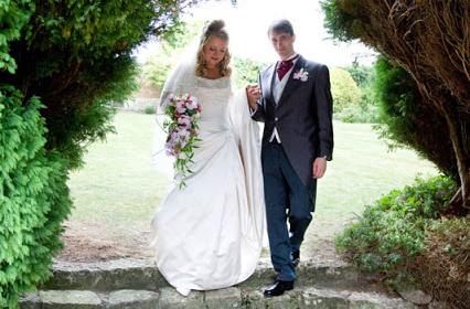 Emma and Simon's wedding, Notley Abbey
