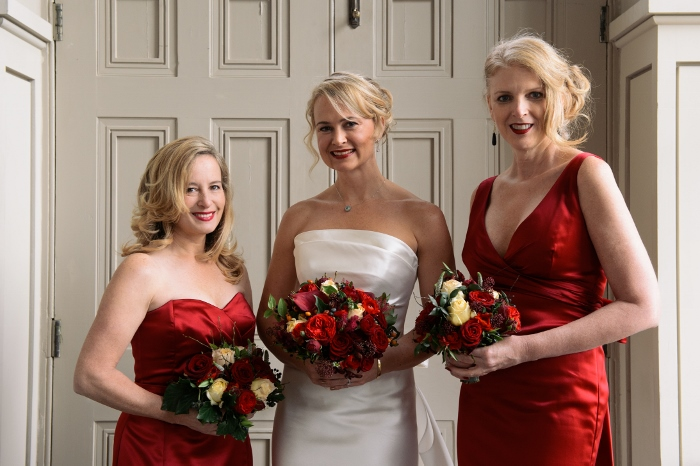 Lenah and Bruce's wedding at Aynhoe Park